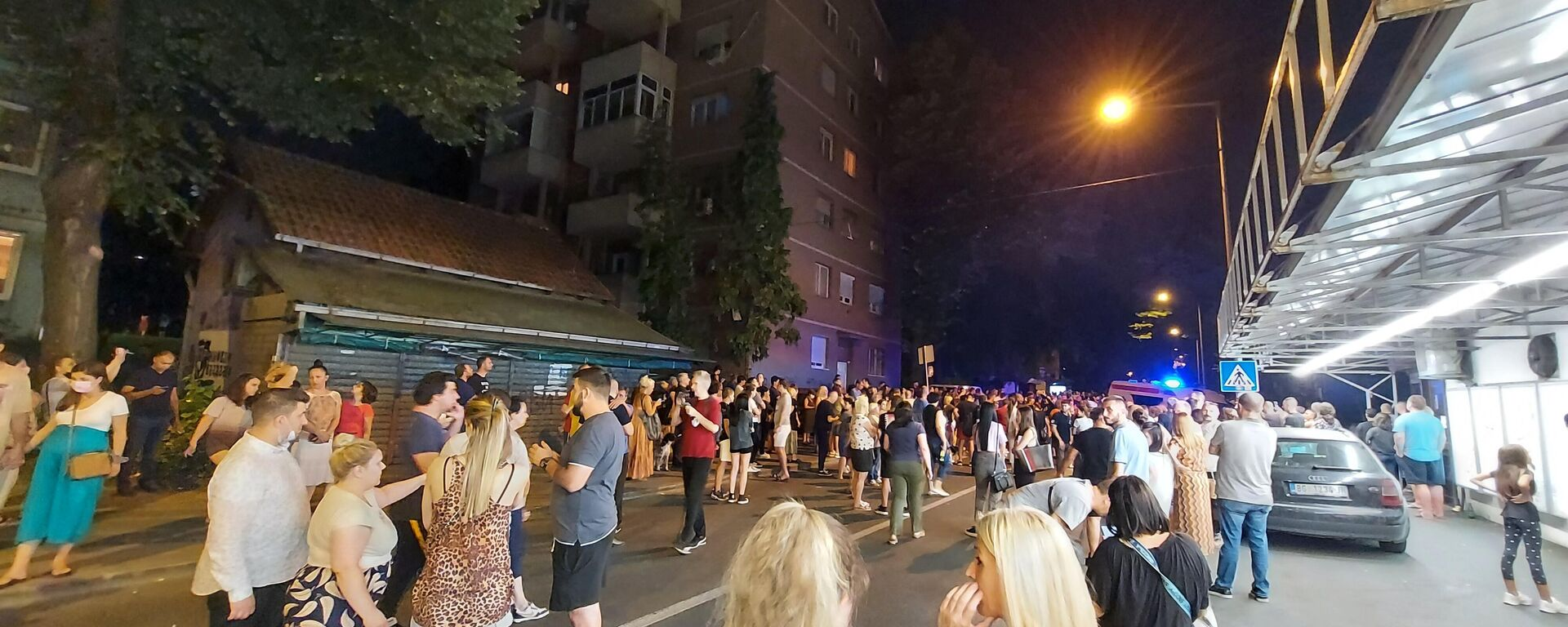 Protest na Karaburmi zbog pogibije dečaka - Sputnik Srbija, 1920, 23.07.2021