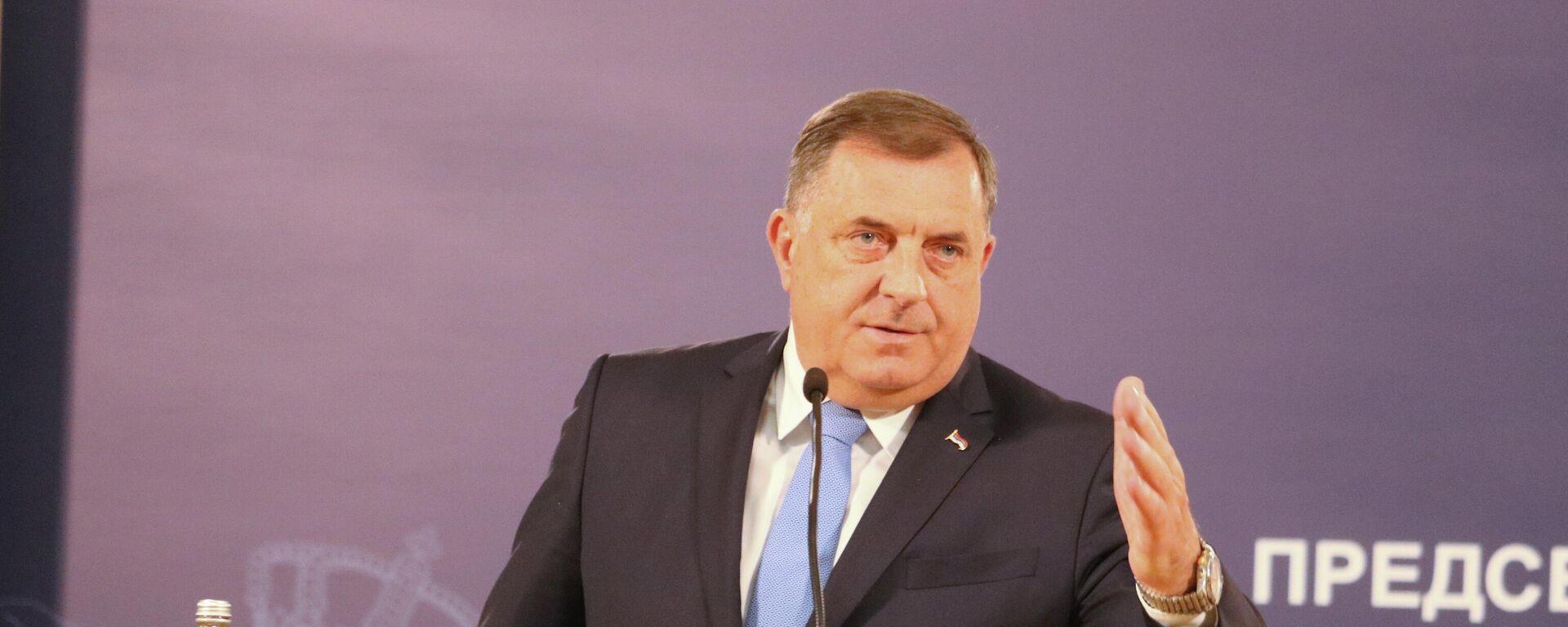 Milorad Dodik - Sputnik Srbija, 1920, 31.07.2021