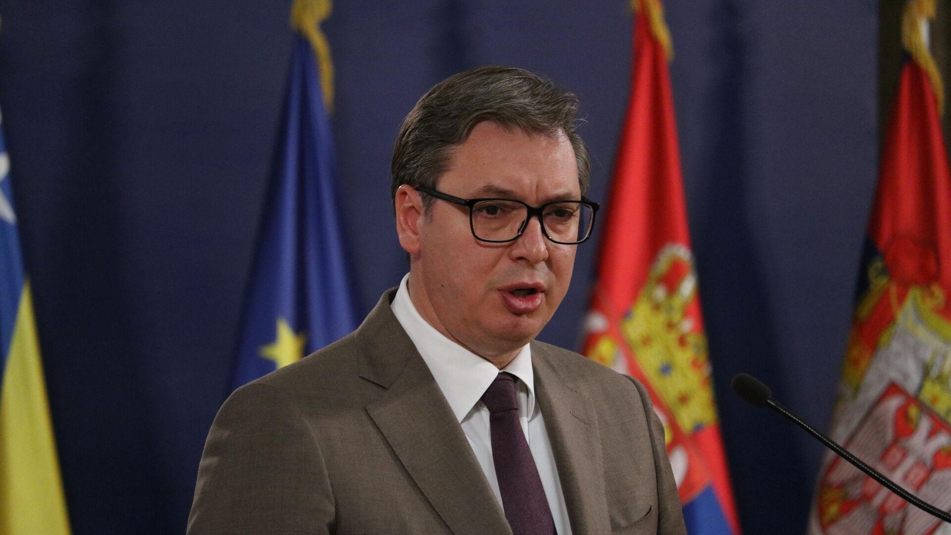 Aleksandar Vučić - Sputnik Srbija, 1920, 01.08.2021