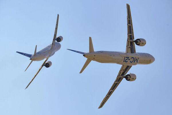 Путнички авиони МС-21-300 и МС-21-310 - Sputnik Србија