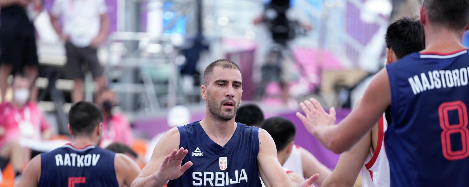Basketaši Srbije - Sputnik Srbija, 1920, 24.07.2021