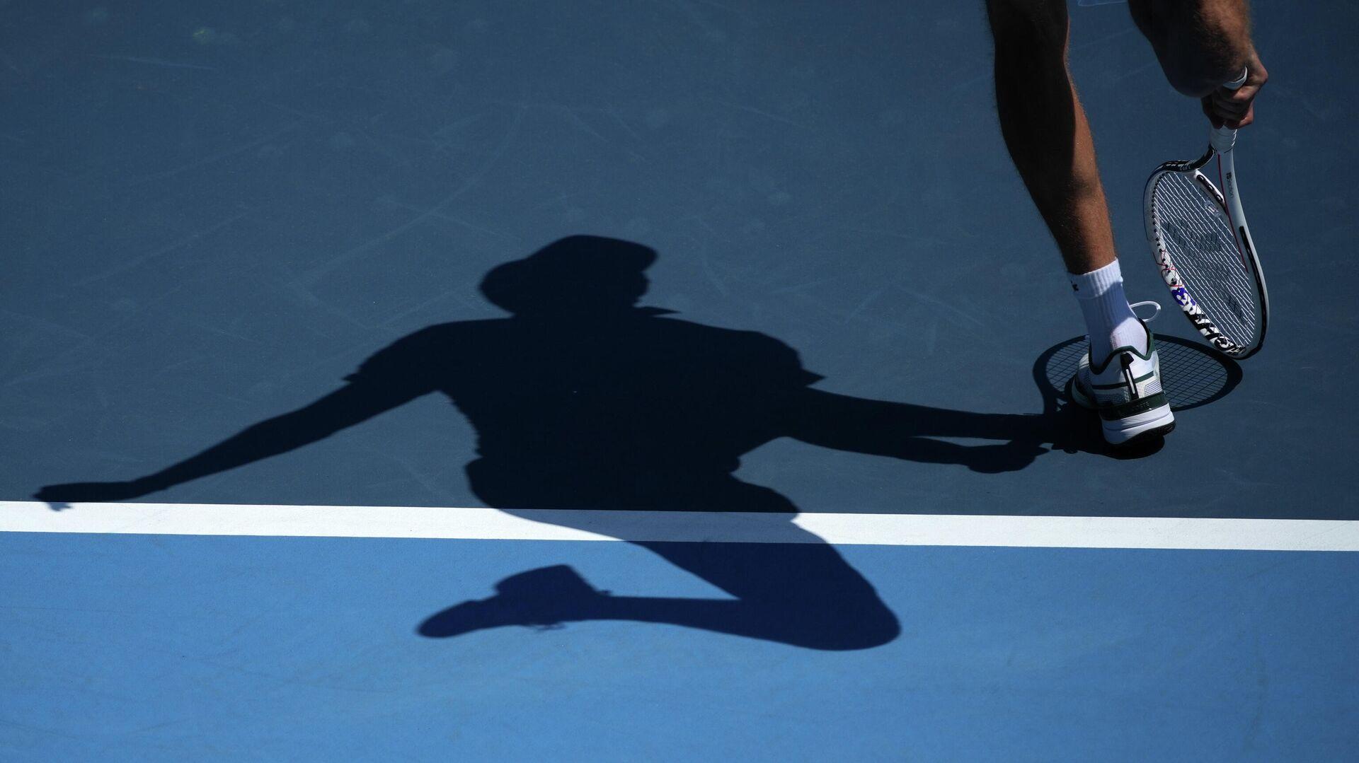 Руски тенисер Данил Медведев у првом колу Олимпијских игара у Токију - Sputnik Србија, 1920, 24.07.2021