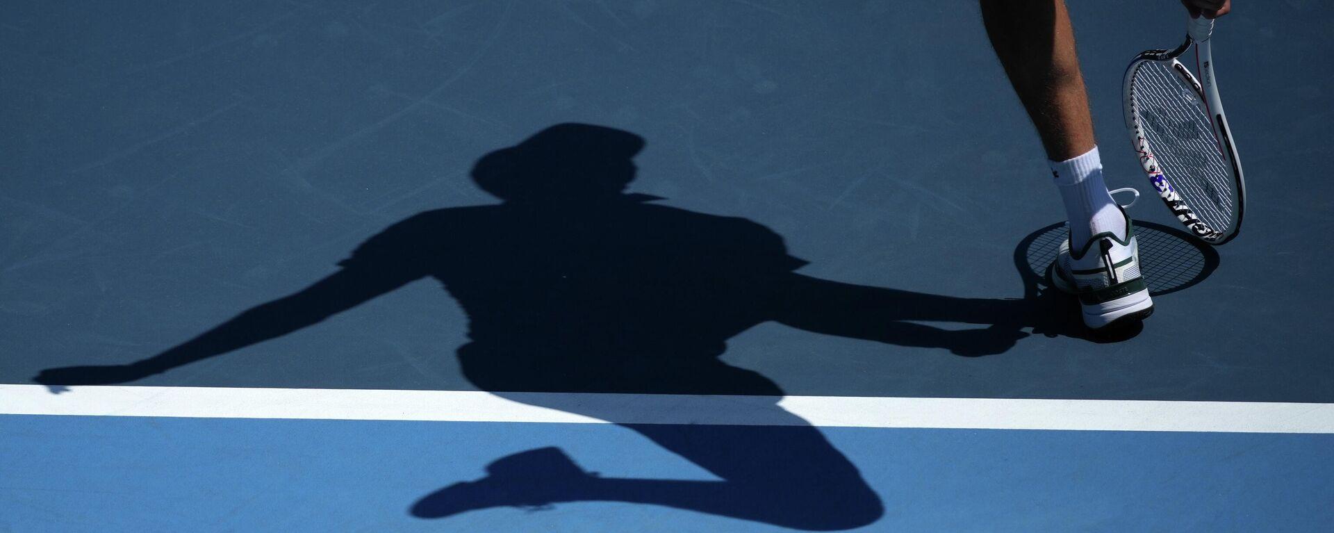 Ruski teniser Danil Medvedev u prvom kolu Olimpijskih igara u Tokiju - Sputnik Srbija, 1920, 24.07.2021