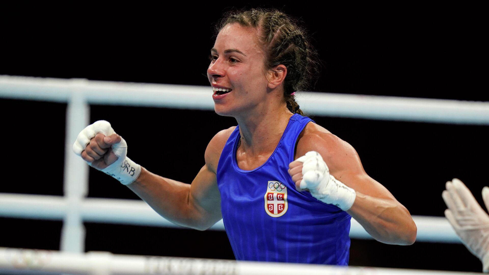 Srpska bokserka Nina Radovanović - Sputnik Srbija, 1920, 25.07.2021