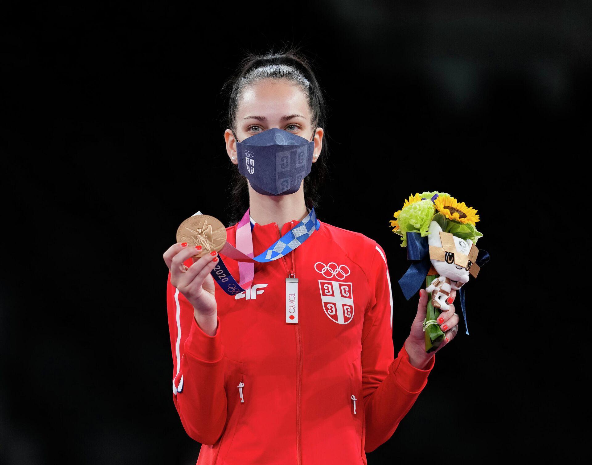 Tijana Bogdanović – Olimpijske igre u Tokiju - Sputnik Srbija, 1920, 25.07.2021