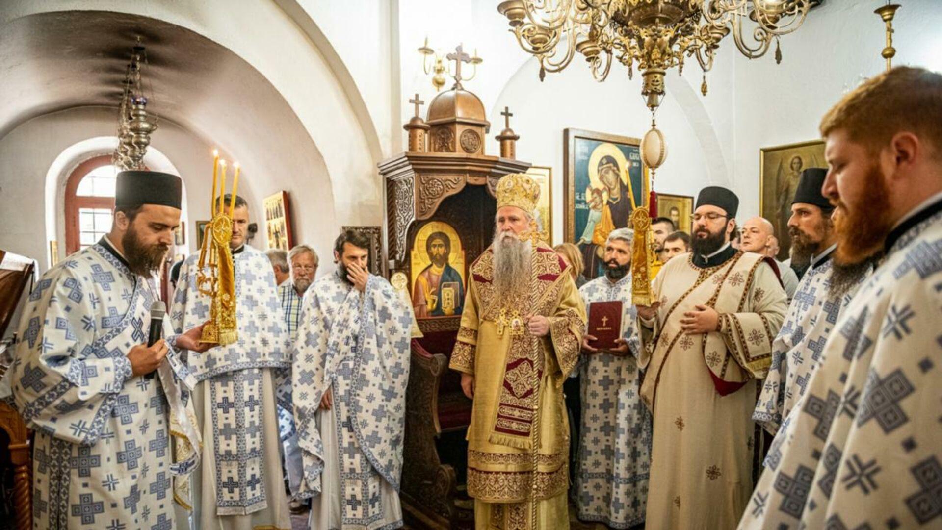 Литургија у Цетињском манастиру - Sputnik Србија, 1920, 06.09.2021