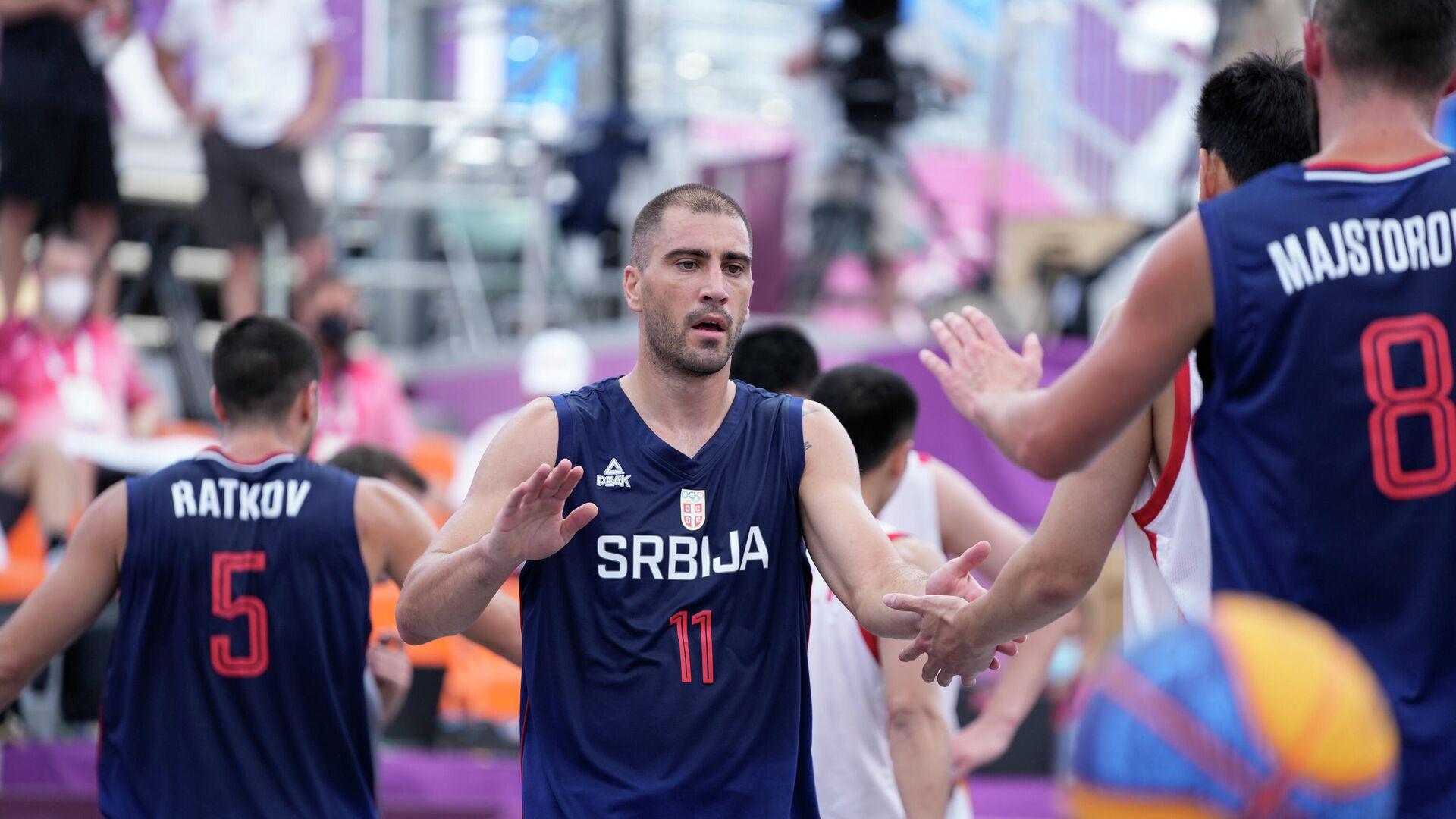 Basket reprezentacija Srbije na Olimpijskim igrama - Sputnik Srbija, 1920, 26.07.2021