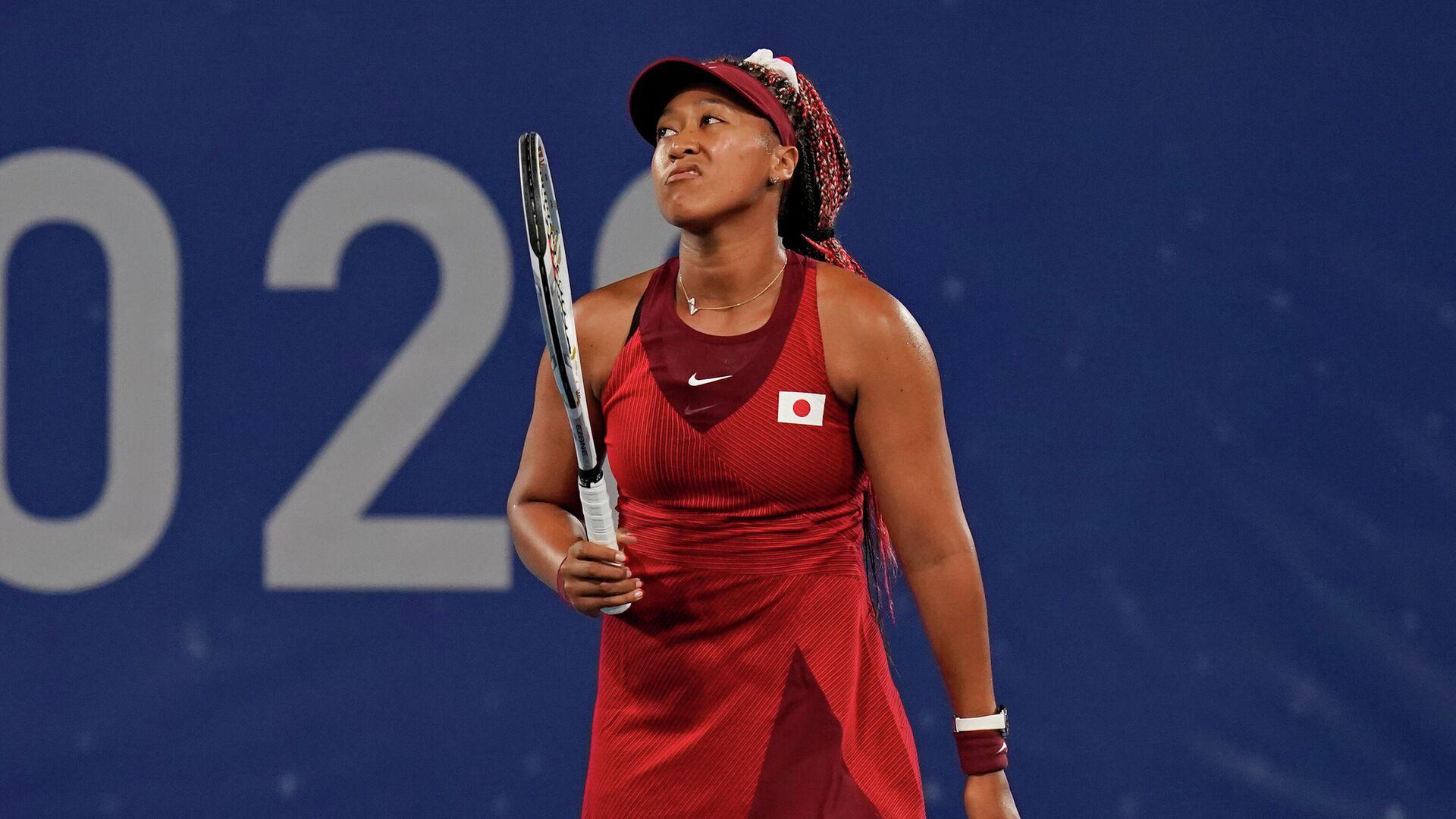 Japanska teniserka Naomi Osaka tokom Olimpijskih igara - Sputnik Srbija, 1920, 27.07.2021