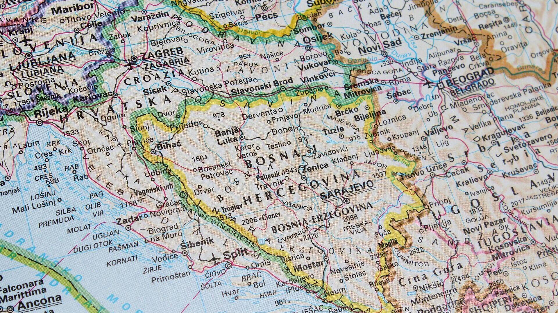 Босна и Херцеговина - Sputnik Србија, 1920, 29.07.2021