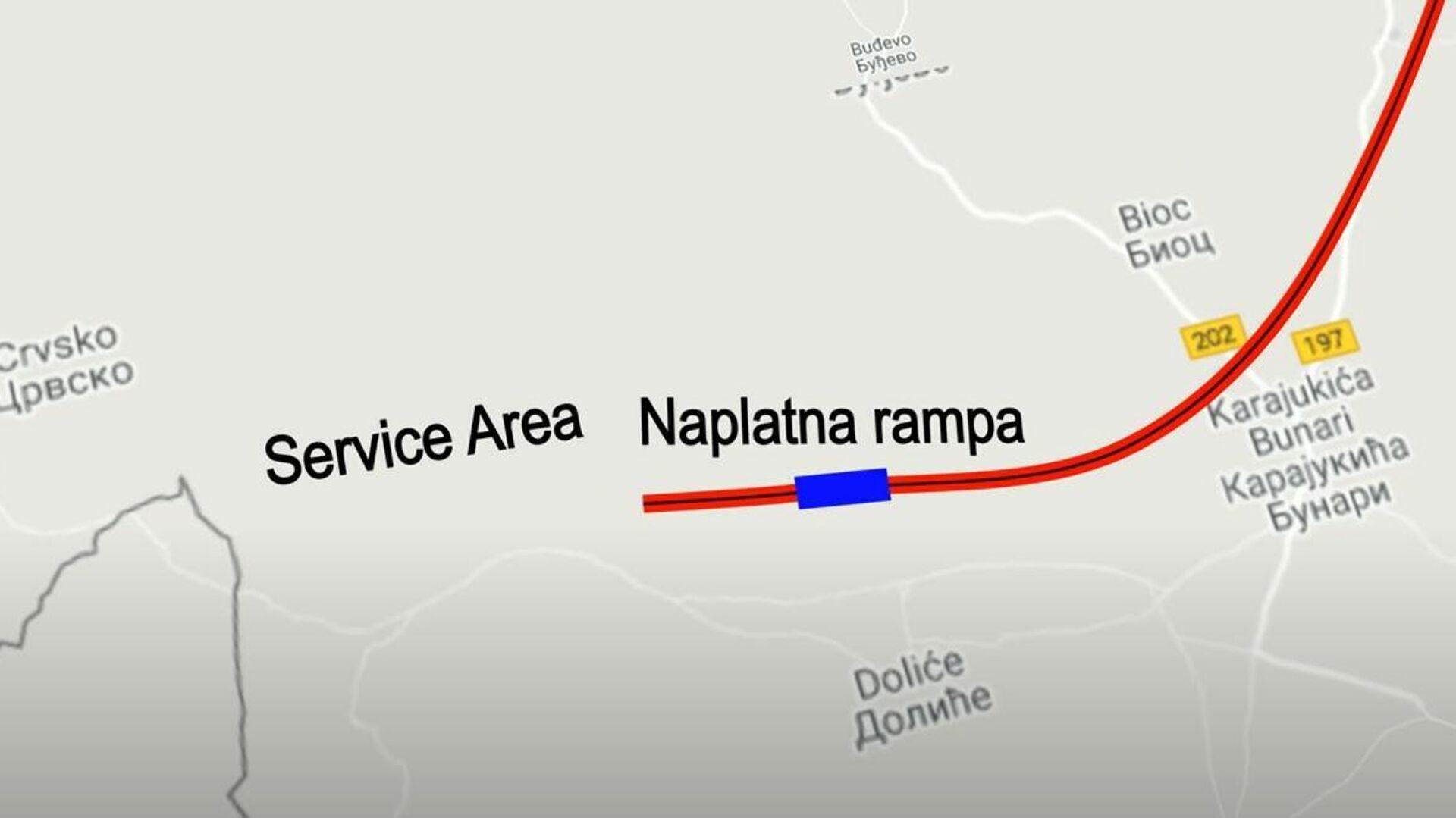 Deo trase auto-puta od Požege do Boljara - Sputnik Srbija, 1920, 28.07.2021