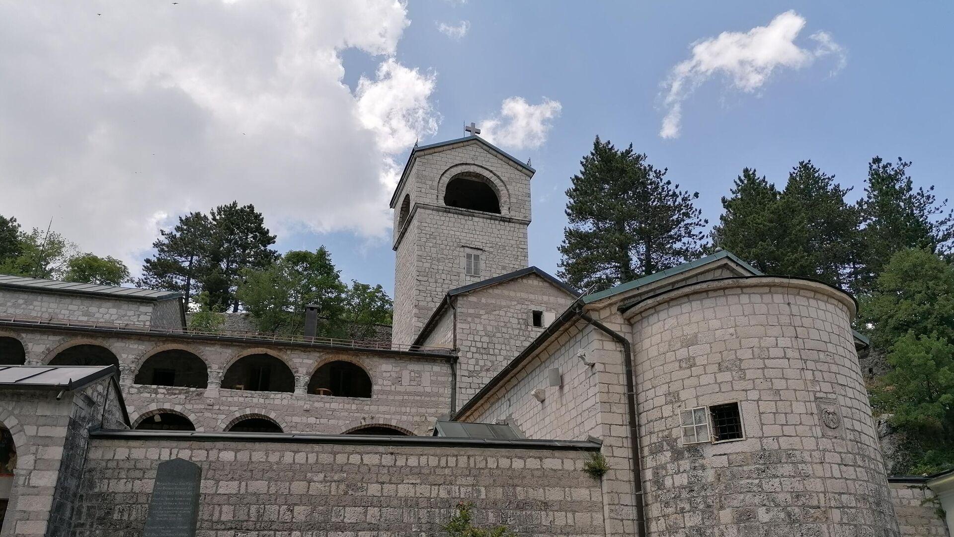 Cetinjski manastir - Sputnik Srbija, 1920, 02.09.2021