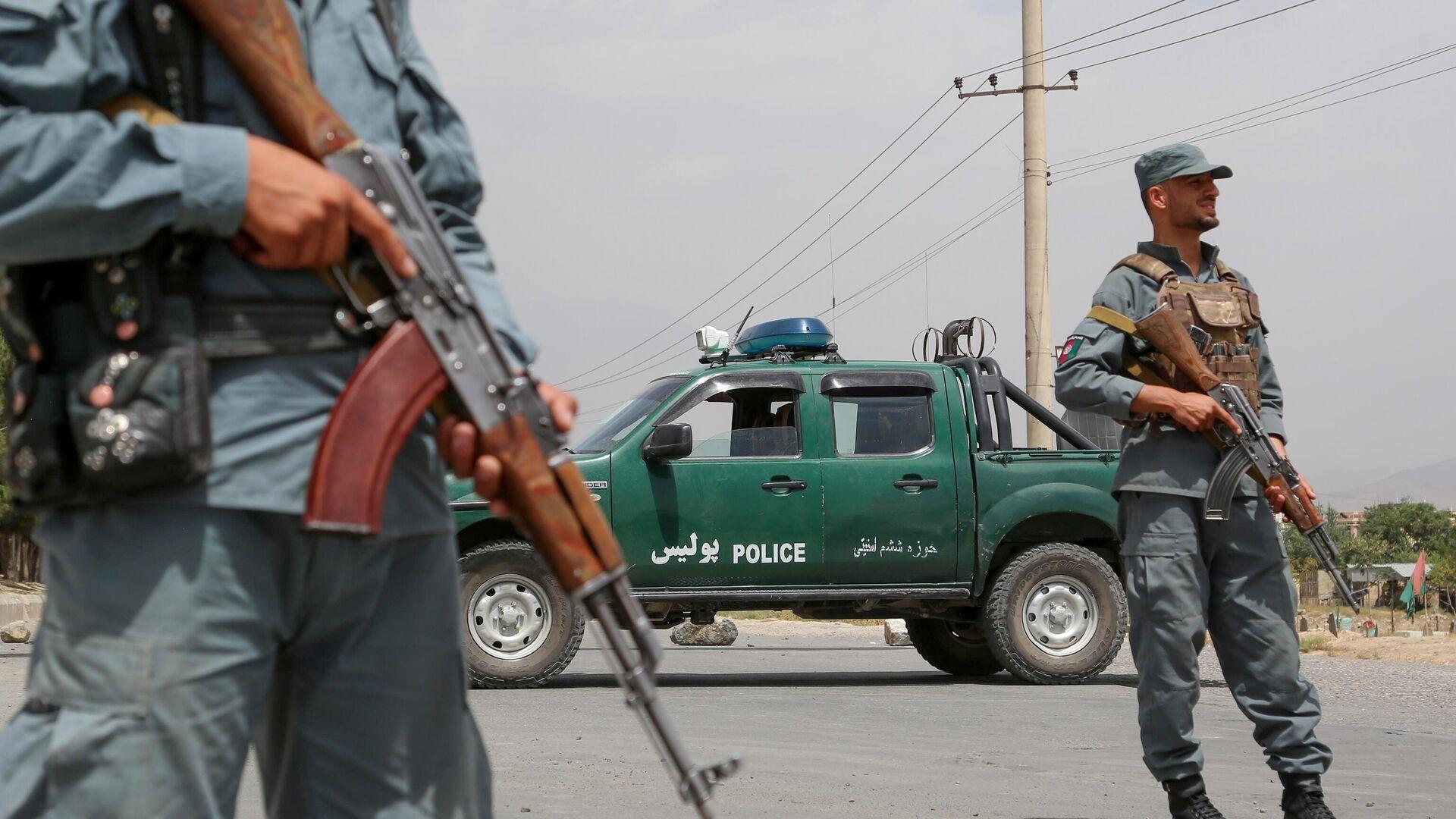 Policija Avganistana u Kabulu - Sputnik Srbija, 1920, 07.09.2021