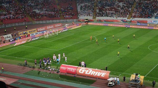 Detalj sa utakmice FK Crvena zvezda – Kairat - Sputnik Srbija
