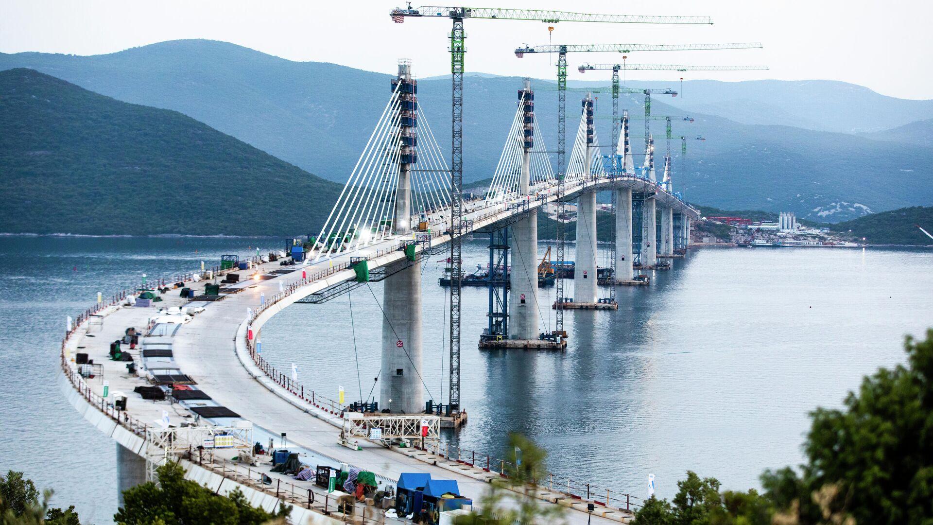 Pelješki most - Sputnik Srbija, 1920, 01.10.2021