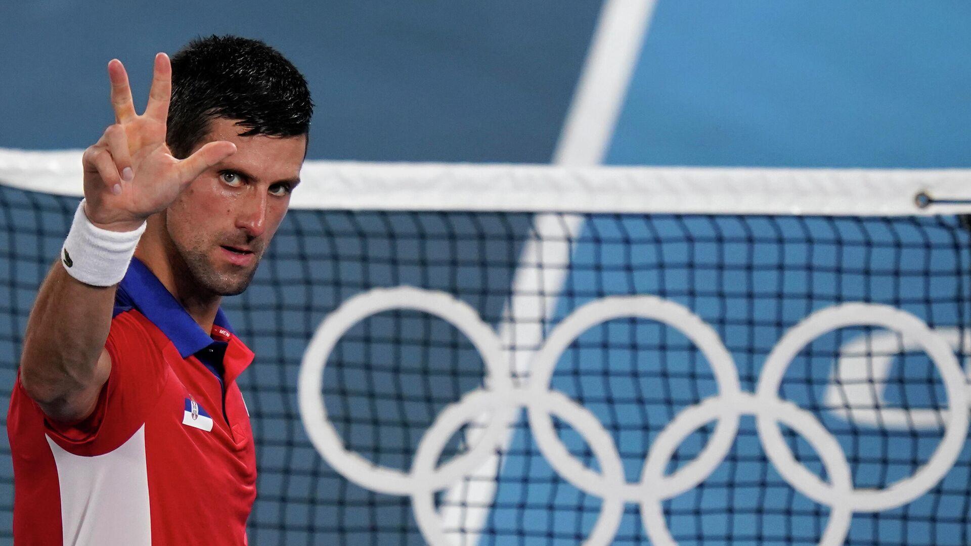 Novak Đoković na Olimpijskim igrama u Tokiju - Sputnik Srbija, 1920, 14.10.2021