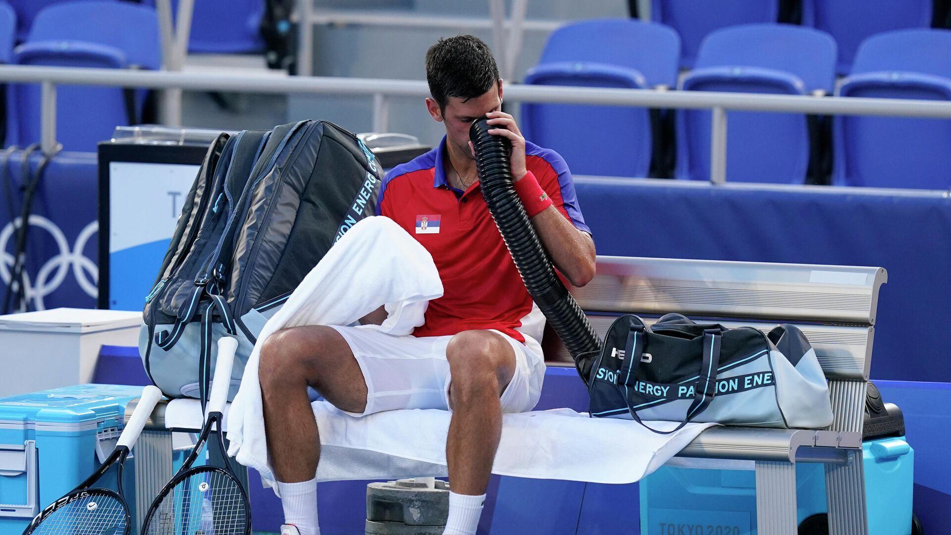 Novak Đoković na Olimpijskim igrama u Tokiju - Sputnik Srbija, 1920, 31.08.2021