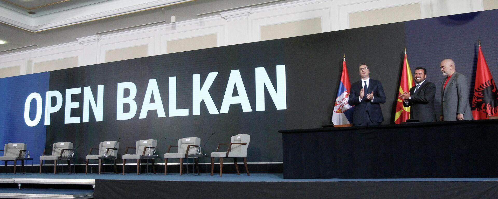 Otvoreni Balkan - Sputnik Srbija, 1920, 30.07.2021