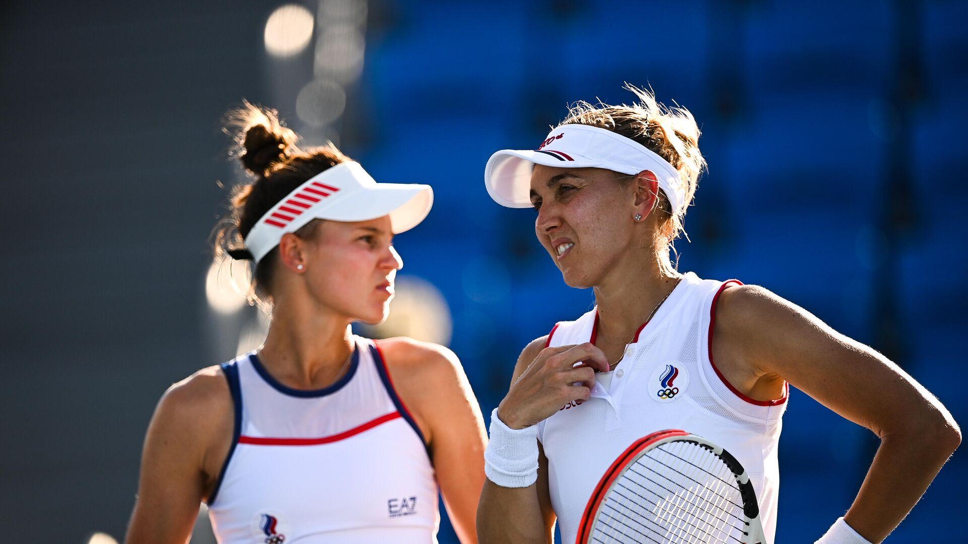 Ruske teniserke Veronika Kudermetova i Elena Vesnina - Sputnik Srbija, 1920, 31.07.2021