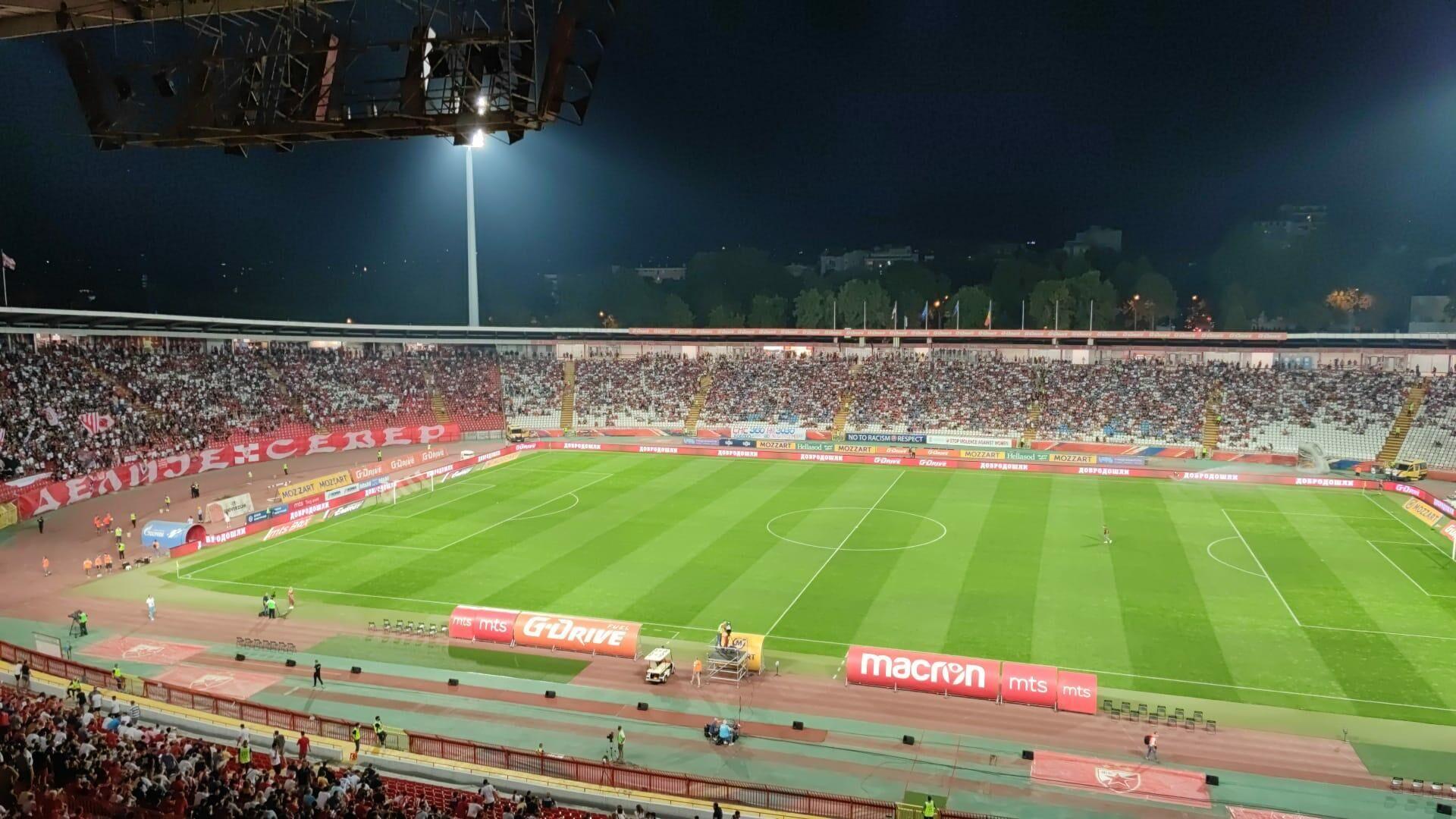 Stadion FK Crvena zvezda pred utakmicu sa Šerifom - Sputnik Srbija, 1920, 10.10.2021