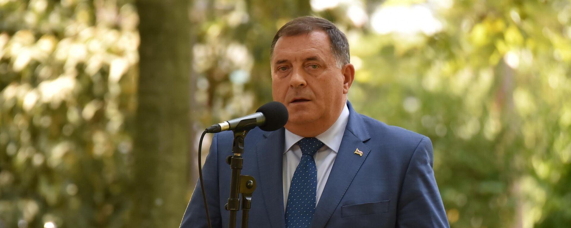 Milorad Dodik - Sputnik Srbija, 1920, 09.09.2021