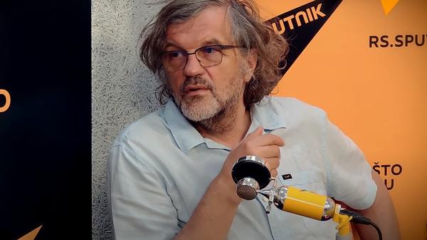 Emir Kusturica u Sputnjikovom studiju - Sputnik Srbija