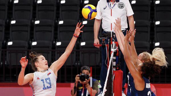Детаљ са утакмице Србија – САД - Sputnik Србија
