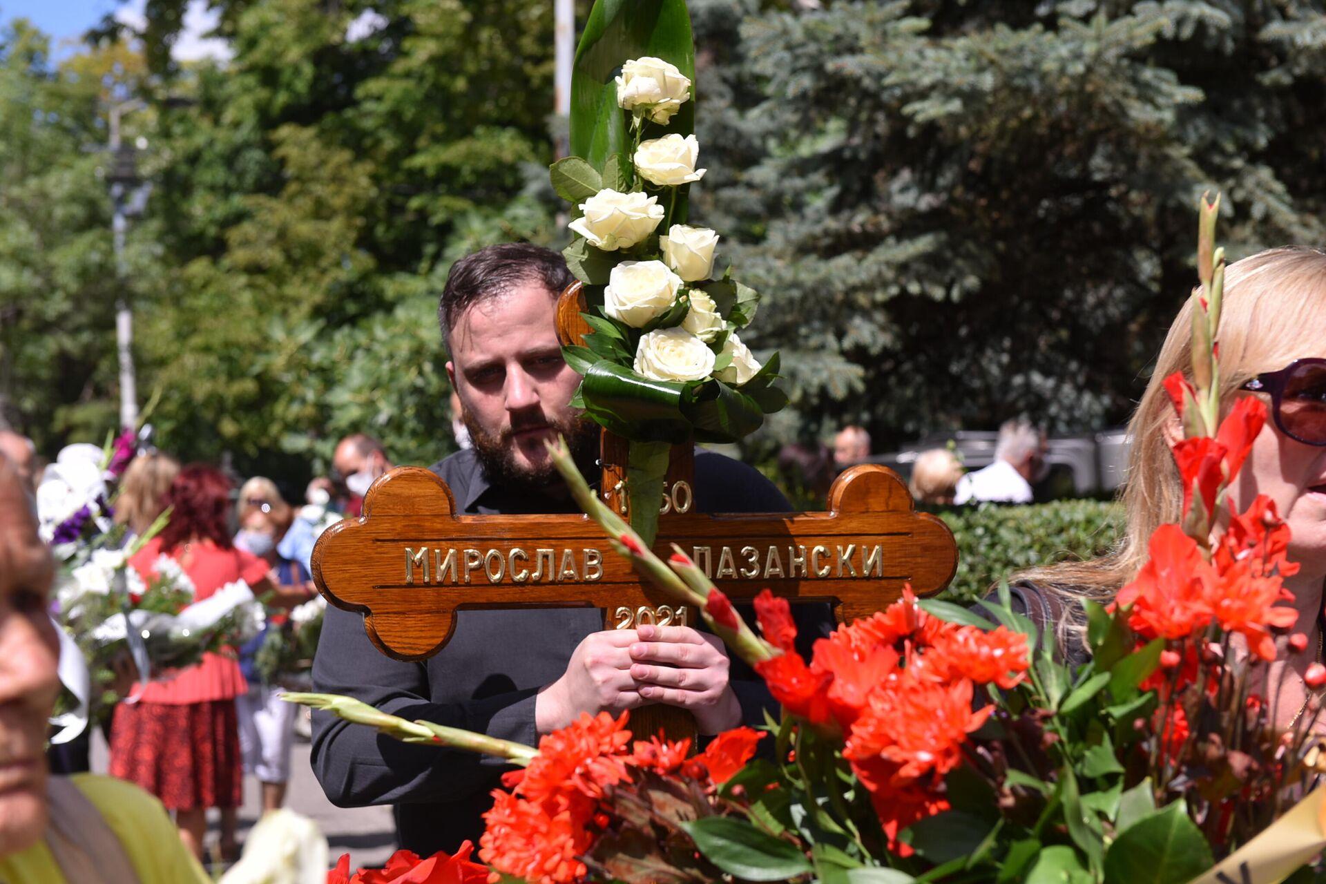 Miroslav Lazanksi, sahrana - Sputnik Srbija, 1920, 06.08.2021