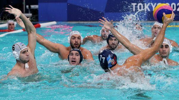 Детаљ са утакмице Србија – Грчка - Sputnik Србија