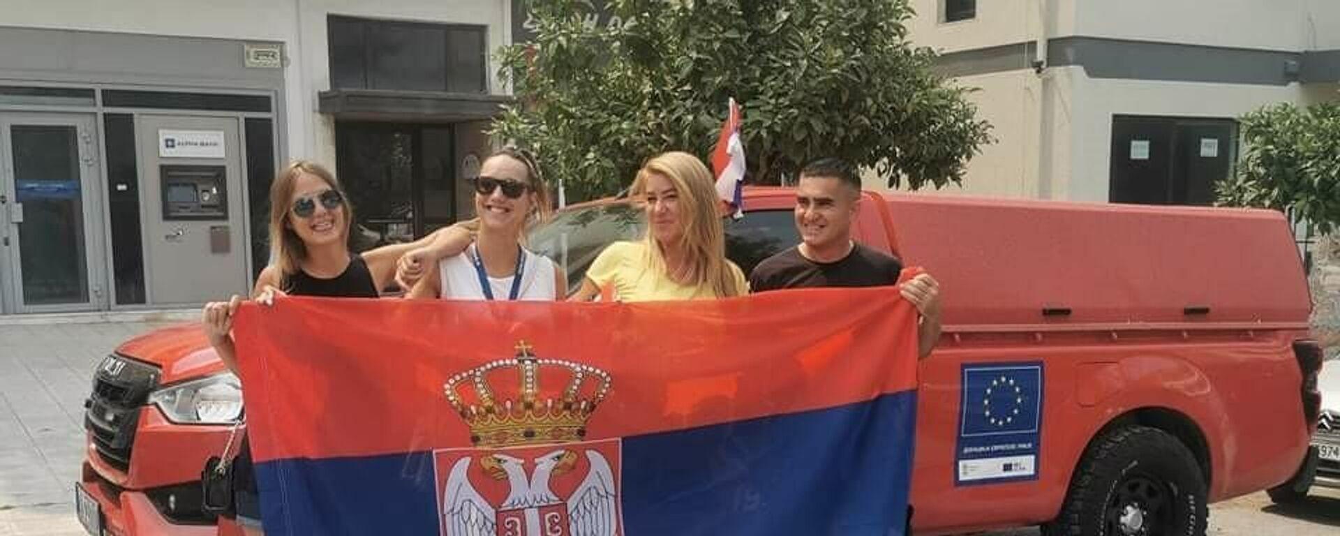 Српски ватрогасци стигли на Евију - Sputnik Србија, 1920, 09.08.2021