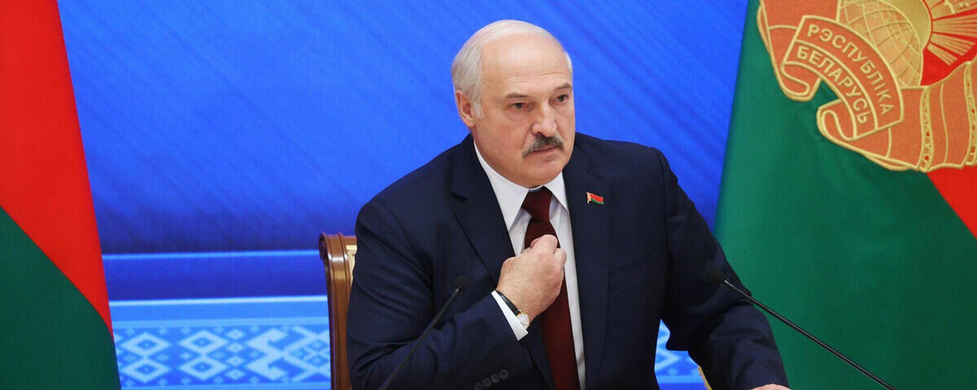 """Lukašenko na """"Velikom razgovoru sa predsednikom"""" - Sputnik Srbija, 1920, 20.09.2021"""