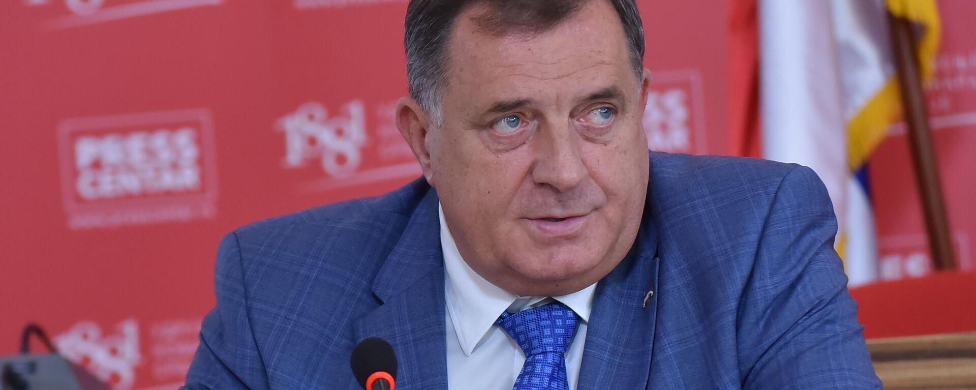 Milorad Dodik - Sputnik Srbija, 1920, 18.09.2021