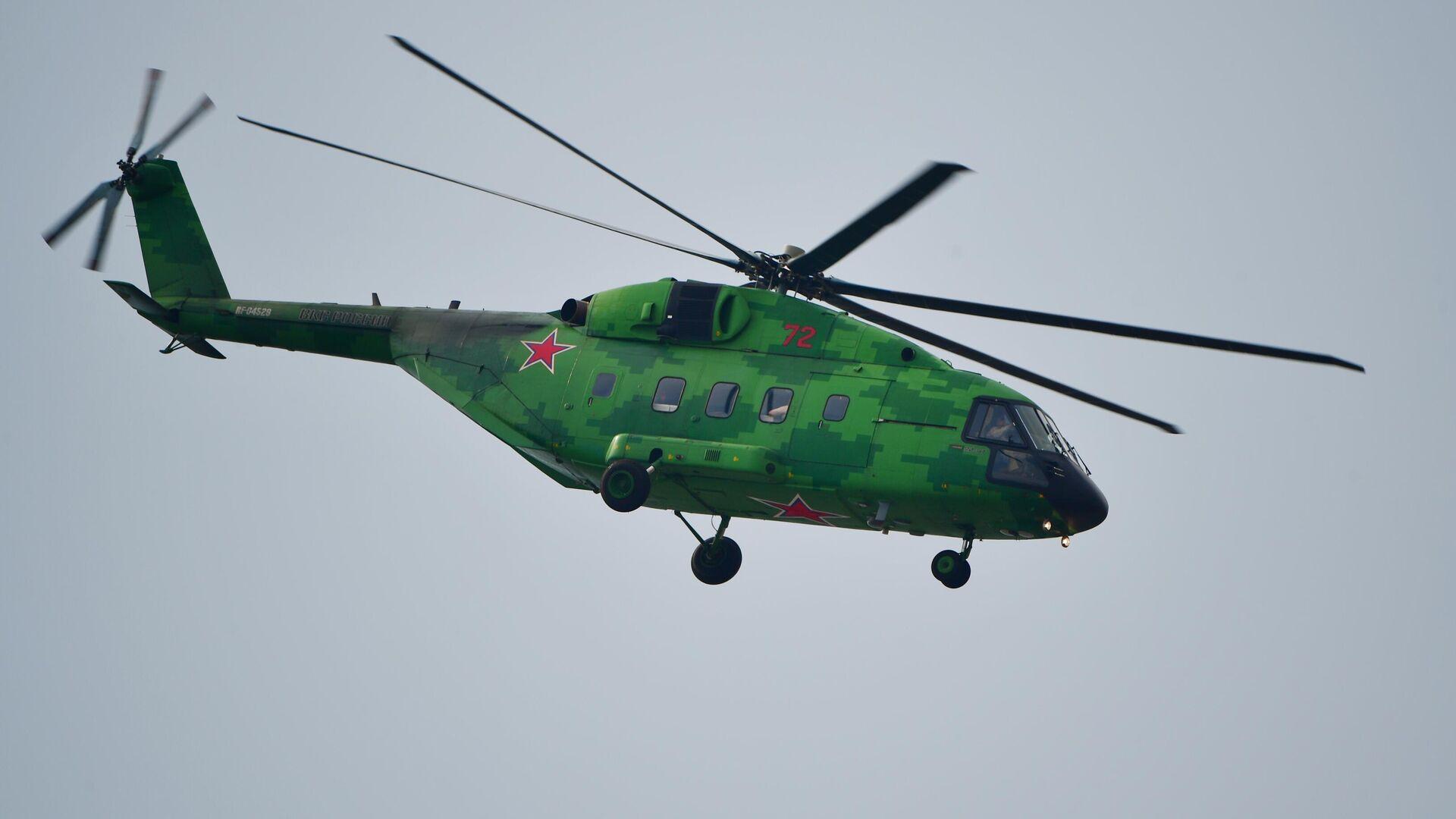 Хеликоптер Ми-38Т - Sputnik Србија, 1920, 07.09.2021
