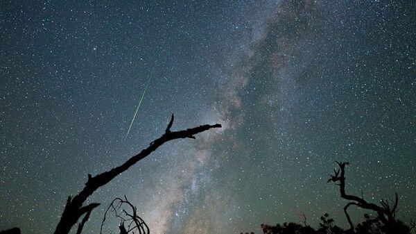 Млечный Путь и метеорный поток Персеиды над Мауна-Кеа - Sputnik Србија