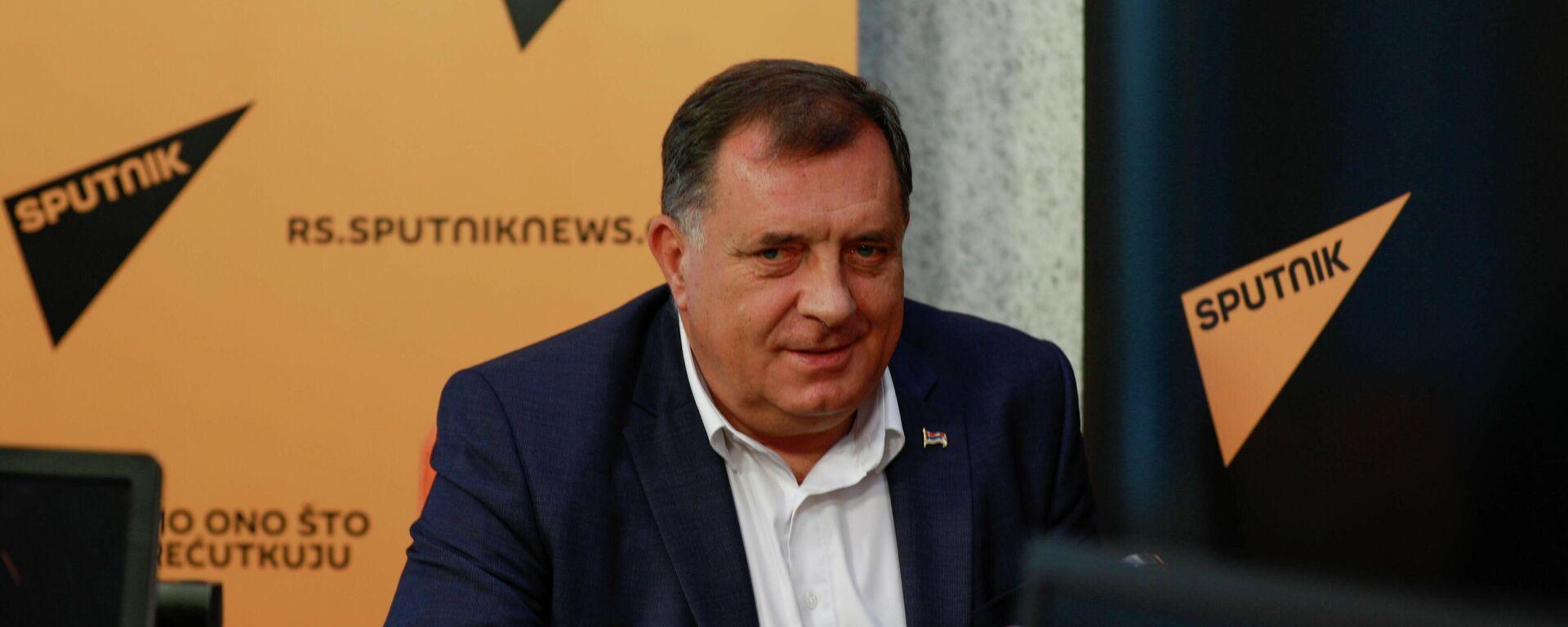 Милорад Додик, гост емисије Од четвртка до четвртка, 12.08.2021. - Sputnik Србија, 1920, 12.08.2021