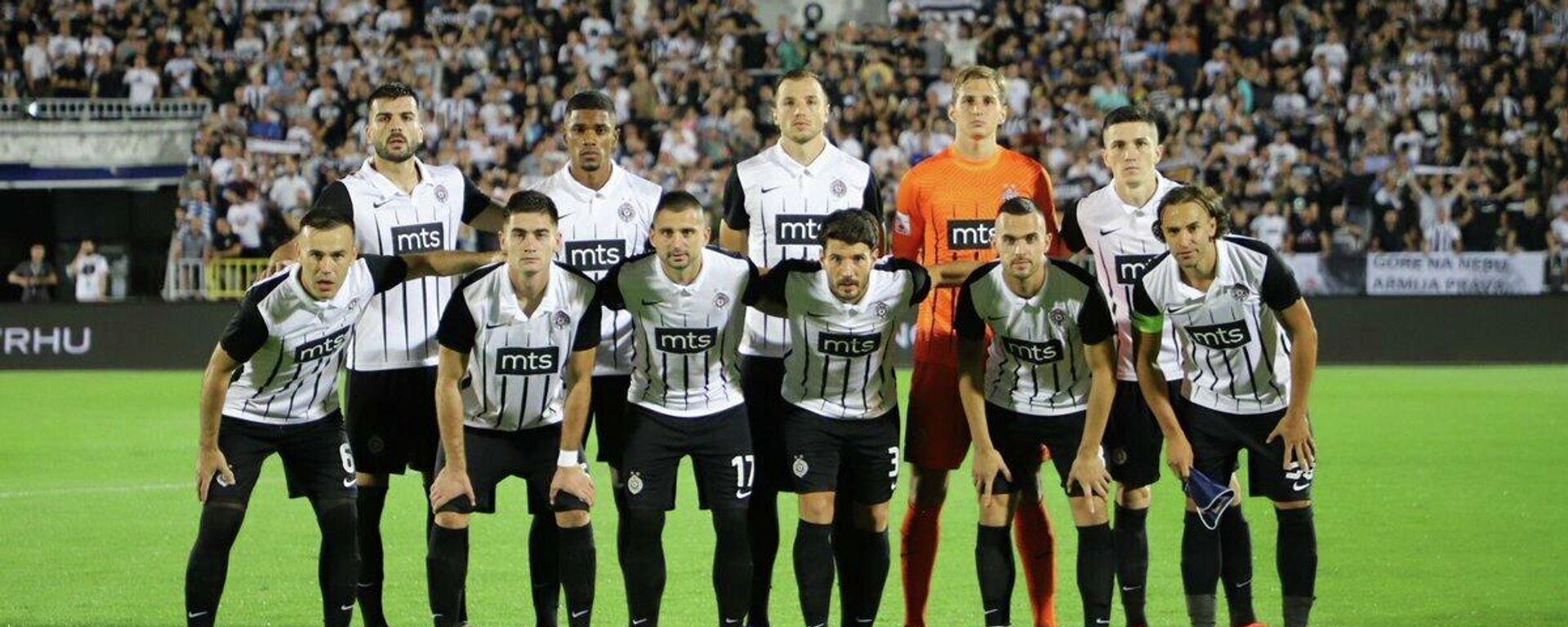 Fudbaleri Partizana pred meč sa Sočijem - Sputnik Srbija, 1920, 27.09.2021