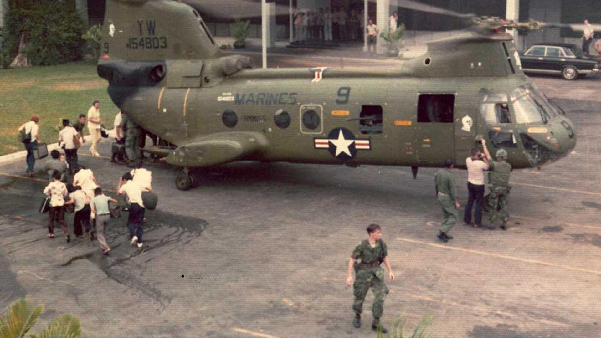 Повлачење Американаца из Вијетнама 1975. године - Sputnik Србија, 1920, 15.08.2021