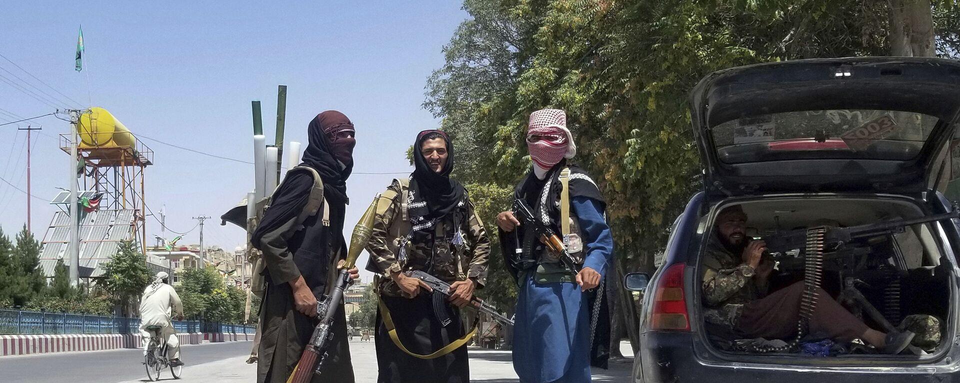Милитанти Талибана граду Газни, Авганистан - Sputnik Србија, 1920, 15.08.2021