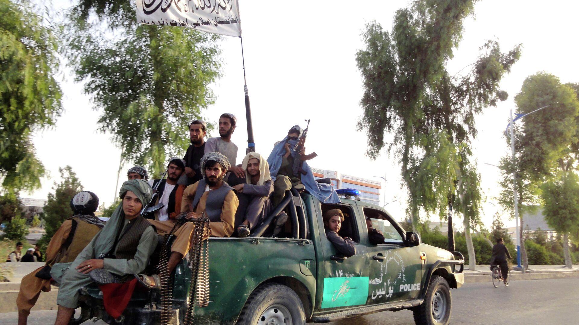 Talibanski militanti u Kandaharu - Sputnik Srbija, 1920, 13.10.2021