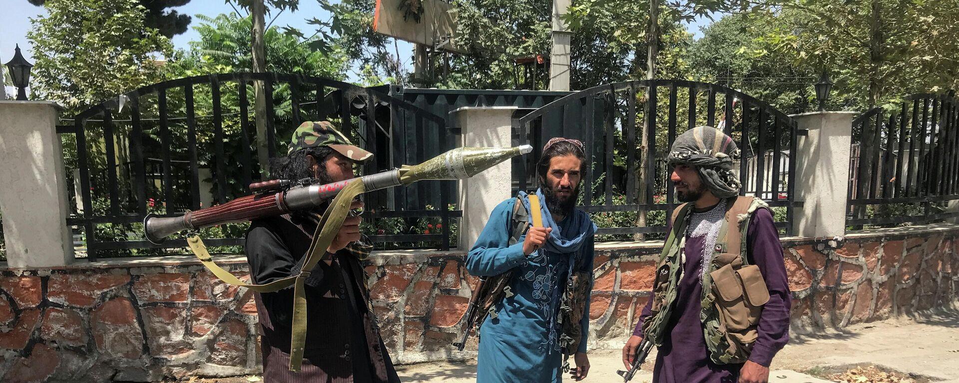 Militanti pokreta Taliban u Kabulu - Sputnik Srbija, 1920, 16.08.2021