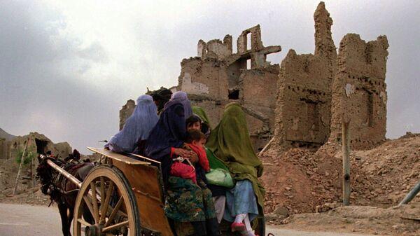 Avganistanke snimljene u blizini Kabula - Sputnik Srbija