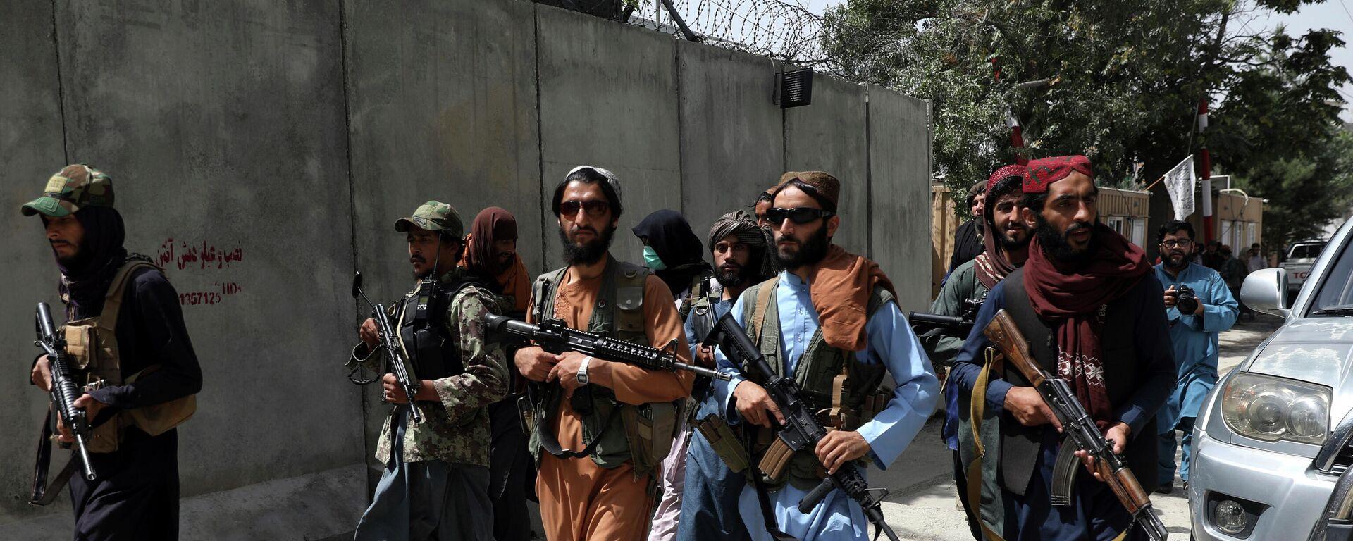 Militanti pokreta Taliban u Kabulu - Sputnik Srbija, 1920, 18.08.2021