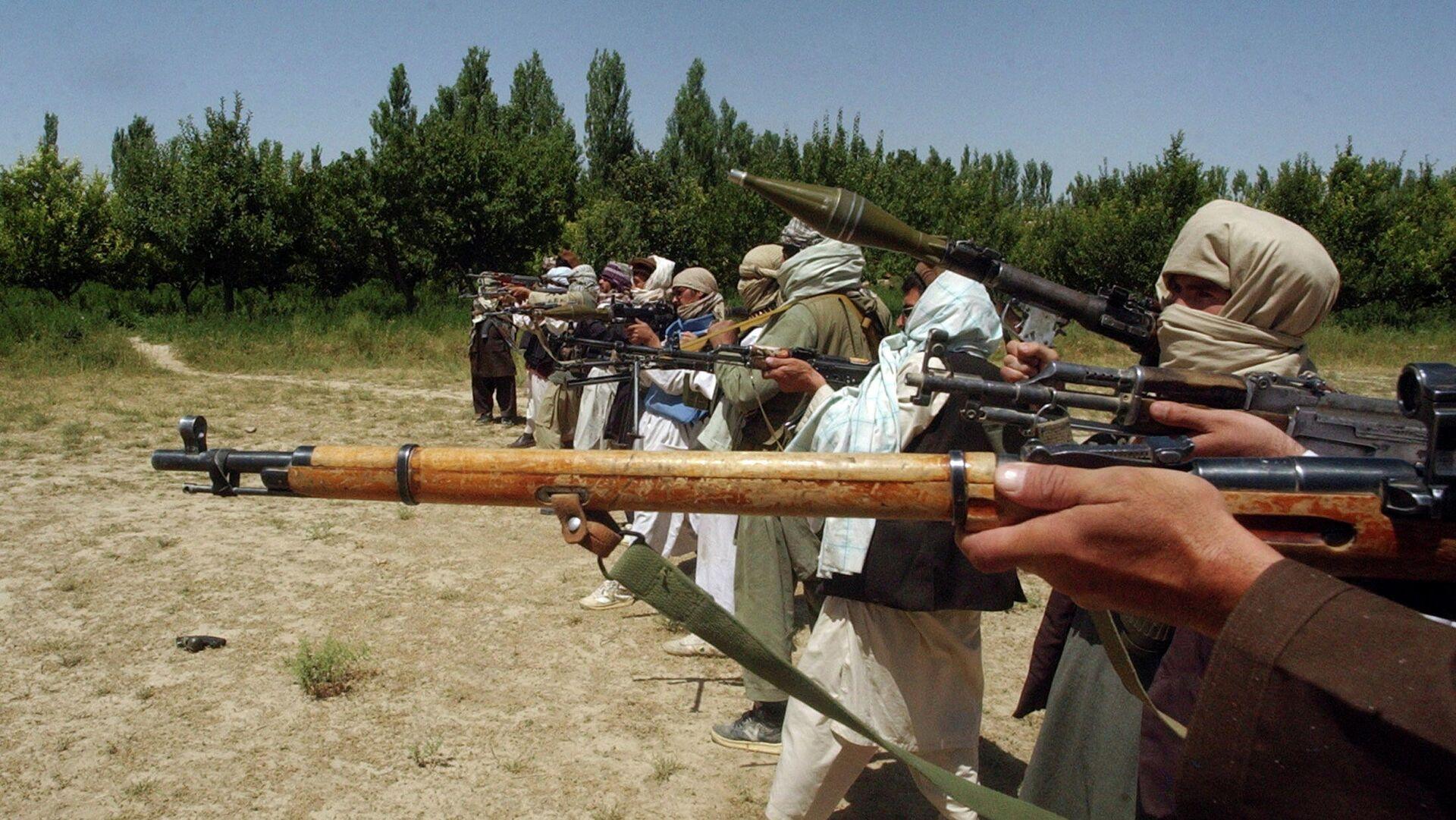 Милитанти покрета Талибан у Авганистану - Sputnik Србија, 1920, 06.09.2021