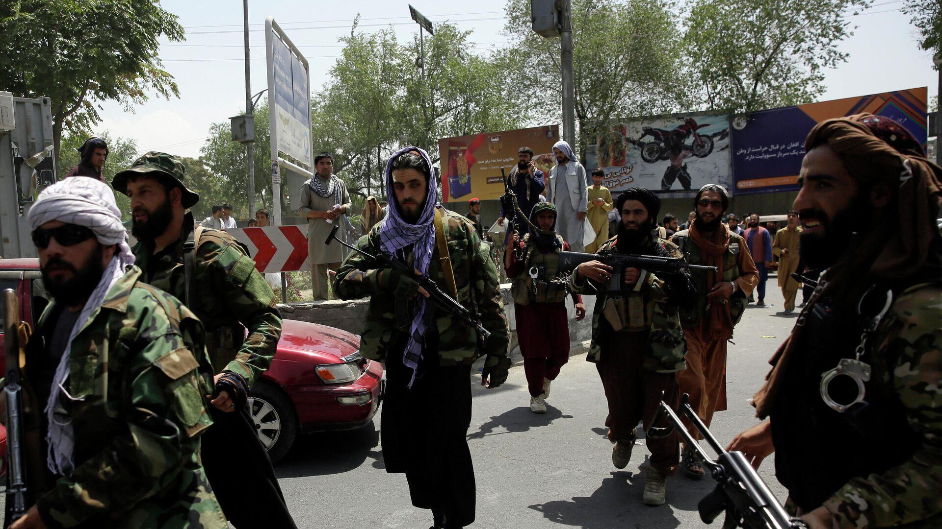 Pripadnici pokreta Taliban u Avganistanu - Sputnik Srbija, 1920, 19.08.2021