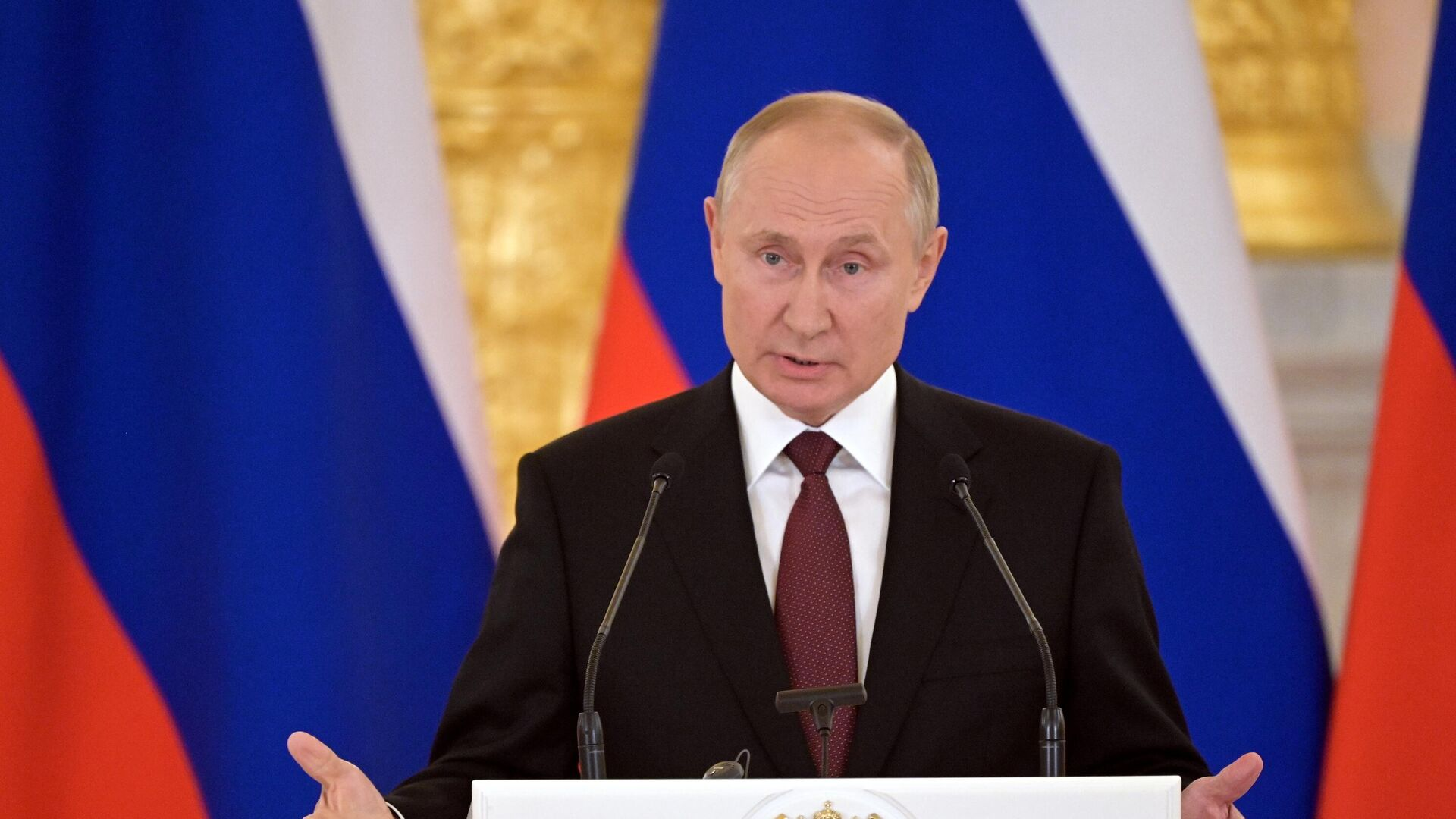 Predsednik Rusije Vladimir Putin - Sputnik Srbija, 1920, 08.10.2021