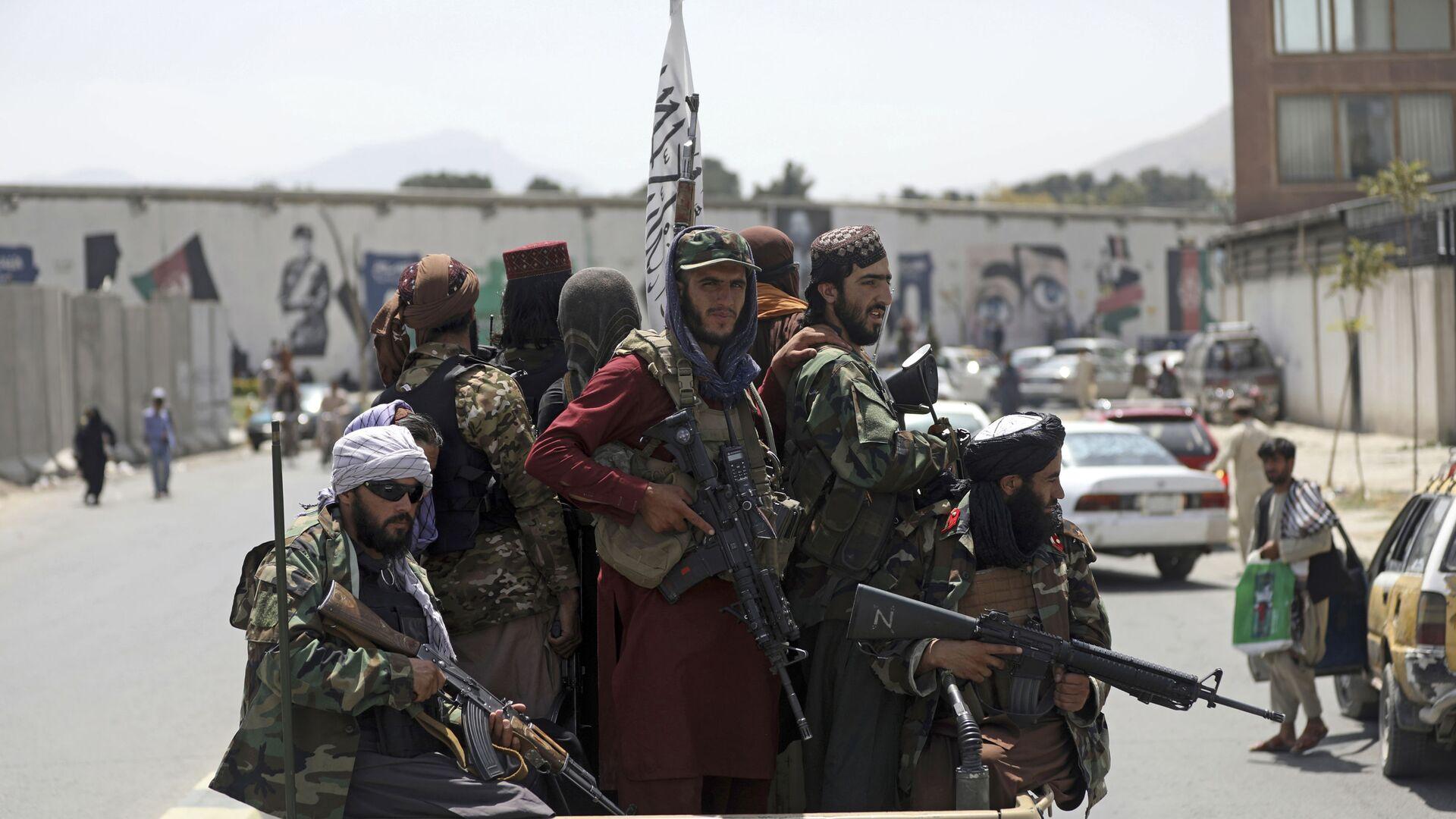 Militanti Talibana* u Kabulu, Avganistan - Sputnik Srbija, 1920, 21.08.2021