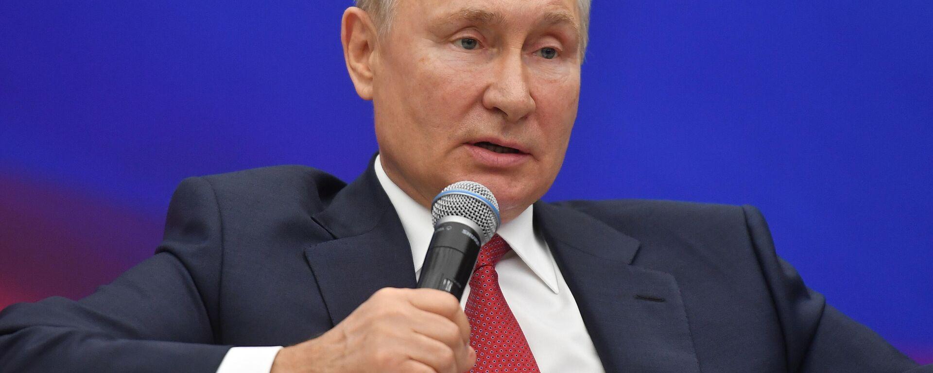 Predsednik Rusije Vladimir Putin - Sputnik Srbija, 1920, 03.09.2021