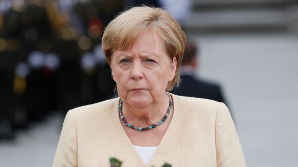 Канцлер Германии Ангела Меркель в Киеве  - Sputnik Србија