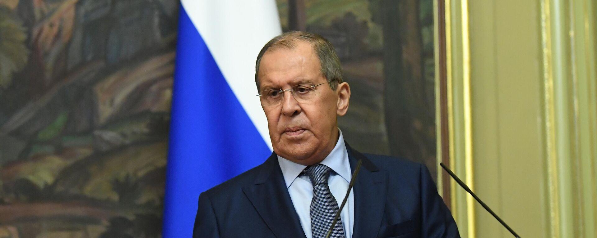 Ministar spoljnih poslova Rusije Sergej Lavrov - Sputnik Srbija, 1920, 09.09.2021