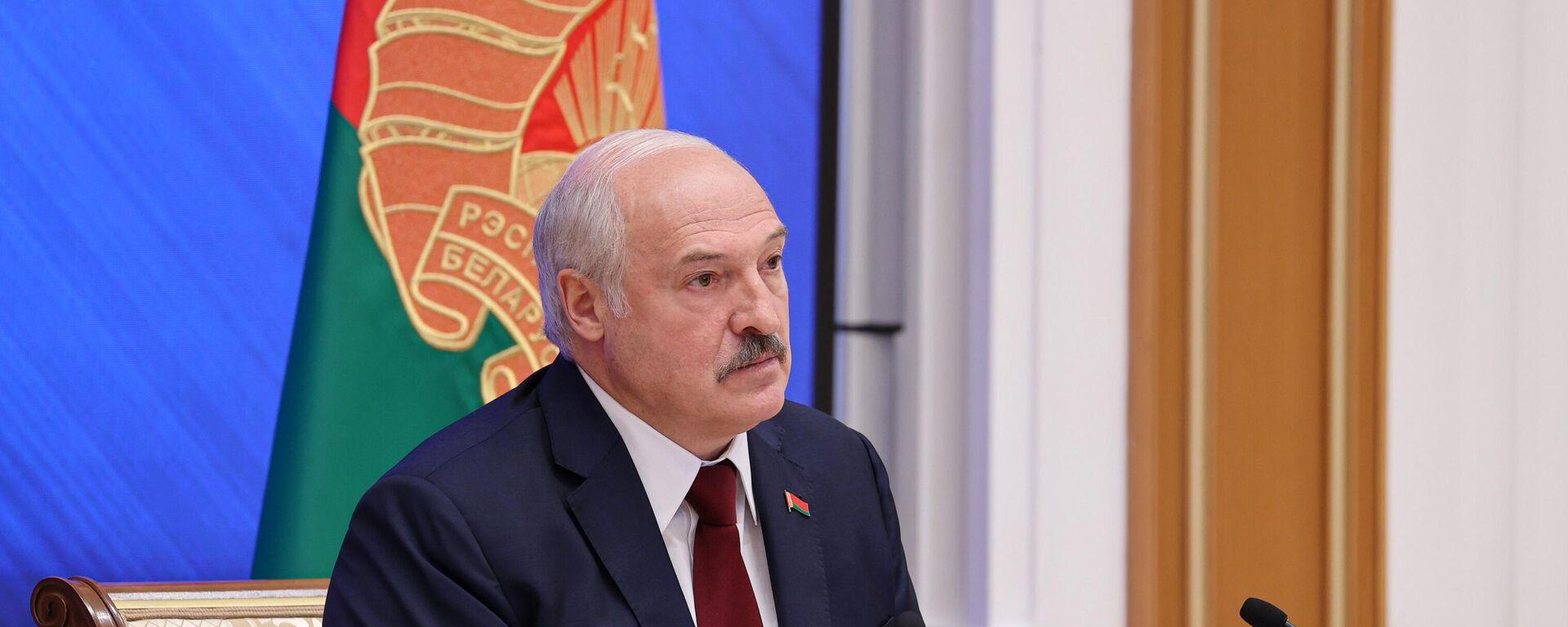 Predsednik Belorusije Aleksandar Lukašenko - Sputnik Srbija, 1920, 23.08.2021