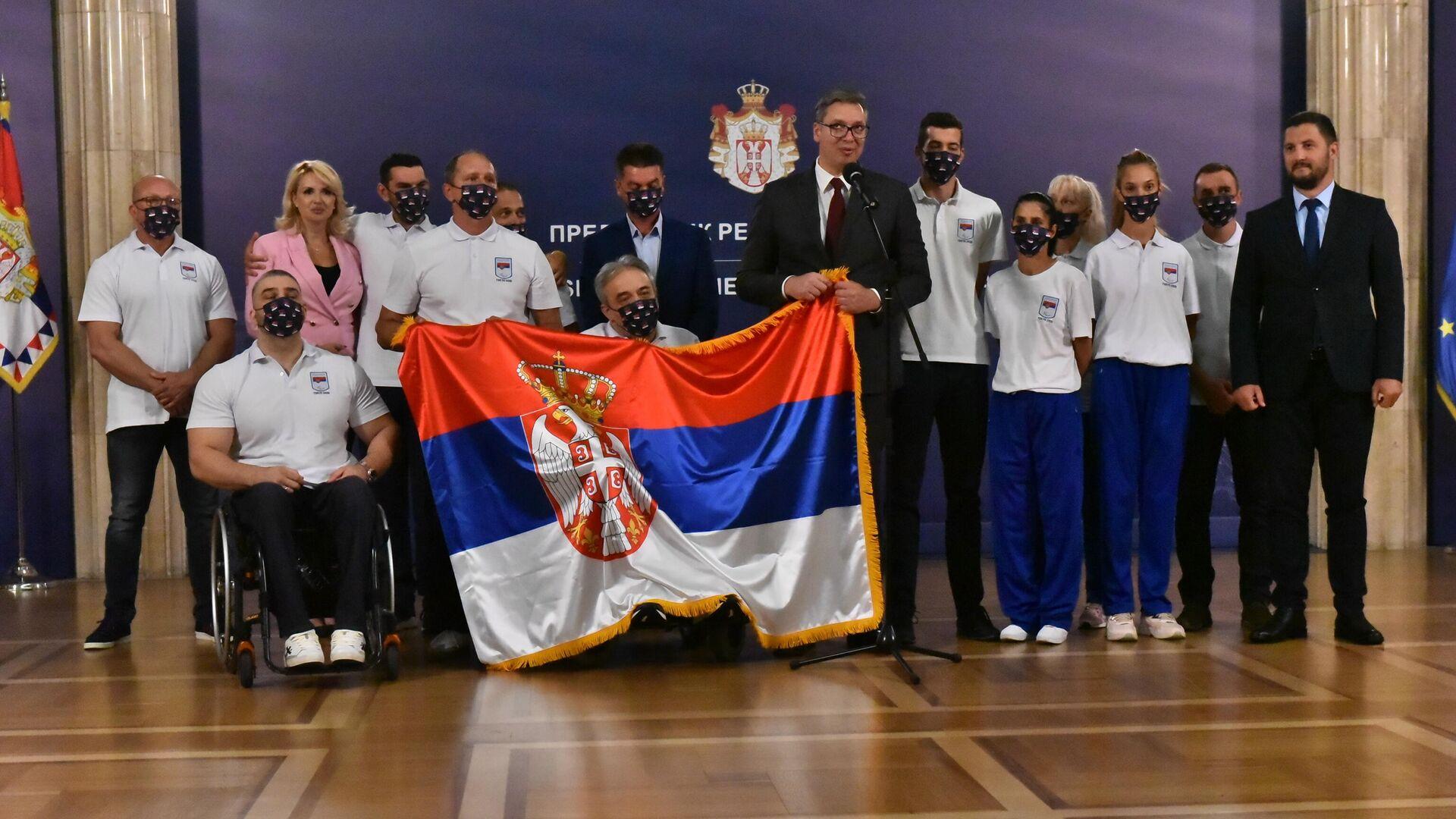 Ispraćaj paraolimpijaca u Tokio - Sputnik Srbija, 1920, 23.08.2021